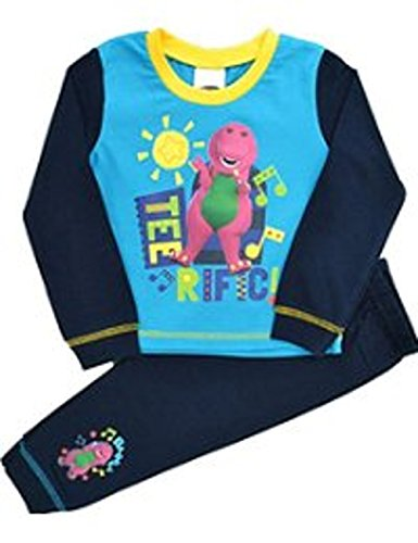 Barney Boys Barney amp; Friends Snuggle Fit Pyjamas Ages 12 Months to 4 Years (18-24 MONTHS, TEERIFIC!)