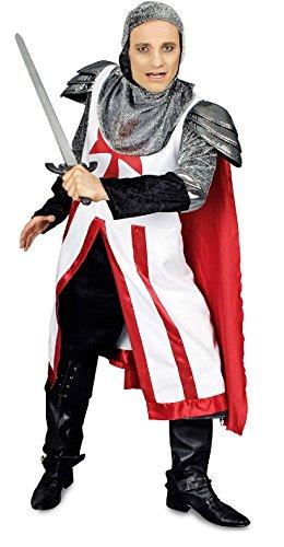 K31250866-58-60 Kinder Herren Ritter Kreuzritter Kostüm - Ritter Kreuzritter Kostüm
