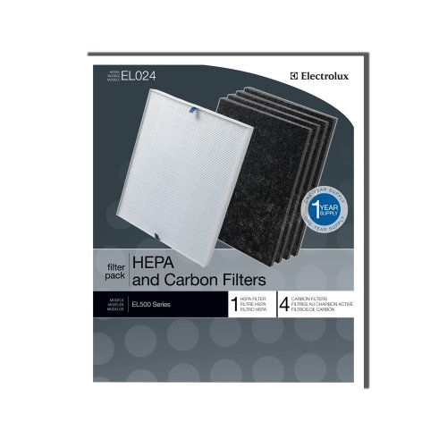 Original Electrolux Hepa und Carbon Filter EL024–1Hepa-Filter, 4Carbon Filter