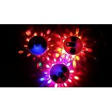 MemoryStar espectáculo de luz bajo el agua, con 6 LED apagado Solar - bajo el agua de la piscina de la piscina luz luz accesorios - 6 LEDs de color - 10 espectáculos de luz diferentes - MARCA ALEMANA