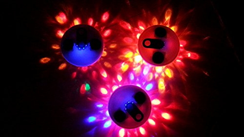 MemoryStar Unterwasserlichtshow Solar mit 6 LED - Abschaltautomatik - Unterwasserlicht Poollicht Poolzubehör Poolleuchte Poollampe Poollichter Poollicht Schwimmbad Licht Schwimmbadzubehör Unterwasserbeleuchtung Poolbeleuchtung Unterwasserstrahler Unterwasserscheinwerfer - 6 Farb LEDs - 10 verschiedene Lichtshows - DEUTSCHE MARKE