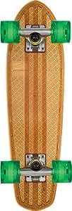 Globe Bantam Clears Skateboard Clear Brown/Raw/Green