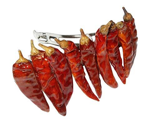 Chilli Haarclip - die schärfste Haarspange der Welt, Chili Hairclip, Haarklammer, Spange zu Fasching, Karneval Haarclip Chilli Collection
