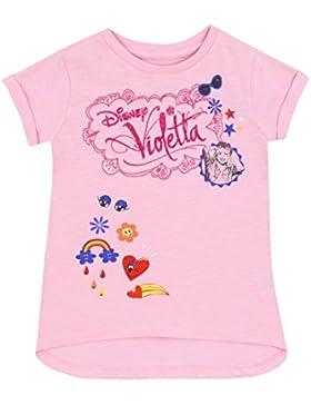 Disney Violetta - Maglietta a Maniche Corte Violetta - Ragazze