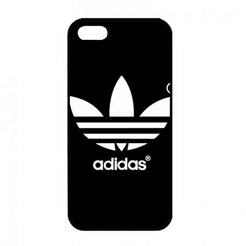 Black Design Adidas Originals Logo Classic Logo Etui de protection pour Apple iPhone 5/5S/SE, Apple iPhone 5/5S/SE Adidas Originals Logo Téléphone Boîte, Adidas Originals Logo Logo Housse étui coque de protection en plastique rigide, une coque de protection en silicone Adidas Originals Etui de protection logo