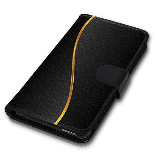 Wallet Book Style Flip Handy Tasche Case Schutz Hülle Schale Motiv Etui für Apple iPhone 6 / 6S - Variante UMV1 Design12 Design 3