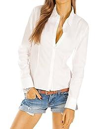 Bestyledberlin Damen Blusen, elegante Stretch Tops, Oberteile t28z