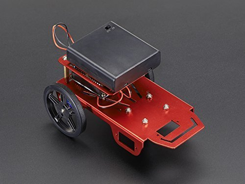 Mini Robot Rover Chassis Kit - 2WD with DC Motors by Adafruit