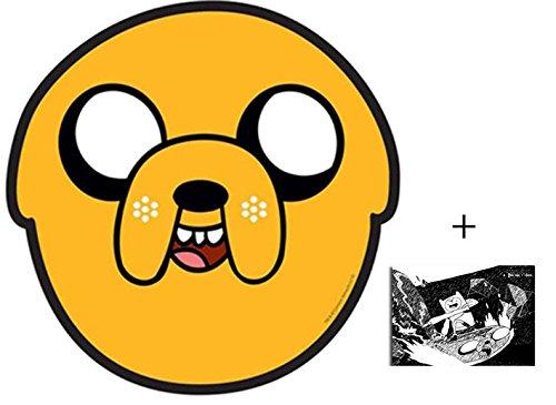 Jake from Adventure Time Karte Partei Gesichtsmasken (Maske) - Enthält 6X4 (15X10Cm) ()