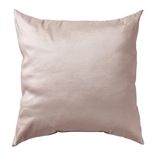 """IKEA Zierkissen / Sofakissen \""""Ullkaktus\"""" Kissen in 50 x 50 cm - 300gr Füllung - formstabil - seidig-glänzender Bezug - SILBER-farben"""