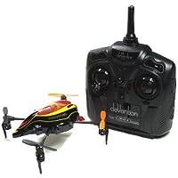 RCECHO® Walkera QR Series InfraX Quadcopter & DEVO 4 Sender RTF (Rot, M2) QC570 mit RCECHO® Vollversion Apps Ausgabe