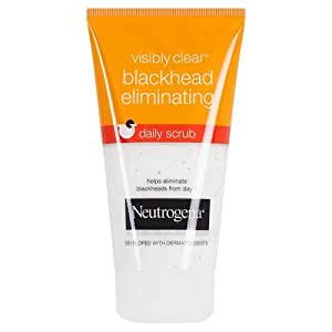 Neutrogena visibly clear Anti-Mitesser Tägliches Peeling, 150 ml