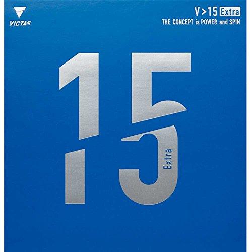 VICTAS Belag V 15 Extra, 2,0 mm, Schwarz