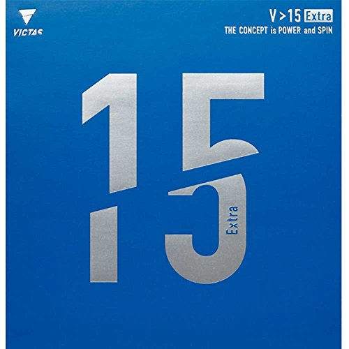 VICTAS Belag V 15 Extra, 2,3 mm, rot