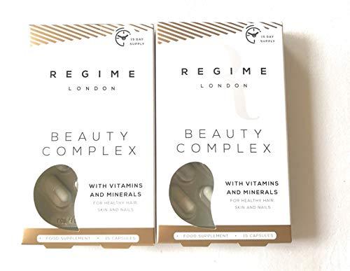 Suplemento nutritivo para la piel del cabello y las uñas, London Beauty Complex, un mes de suministro