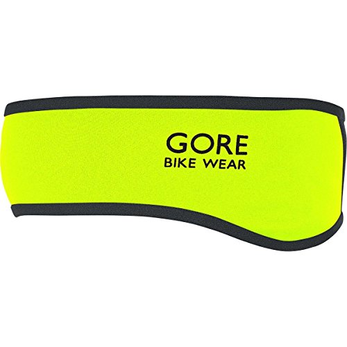 GORE WEAR Stirnband Universal Windstopper Soft Shell, Neon Yellow/Black, One Size