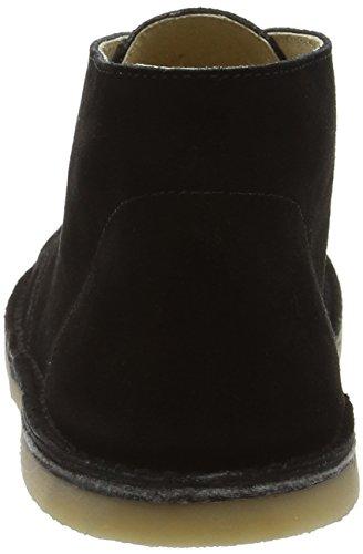 Start Rite Colorado Ii, Desert Boots Mixte Enfant Noir (Black Suede)