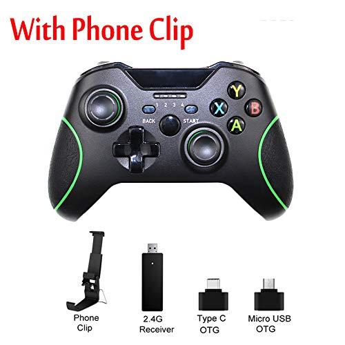 STHfficial 2.4G Wireless Controller Für Xbox One Konsole Für PC Für Android Smartphone Gamepad Joystick,A