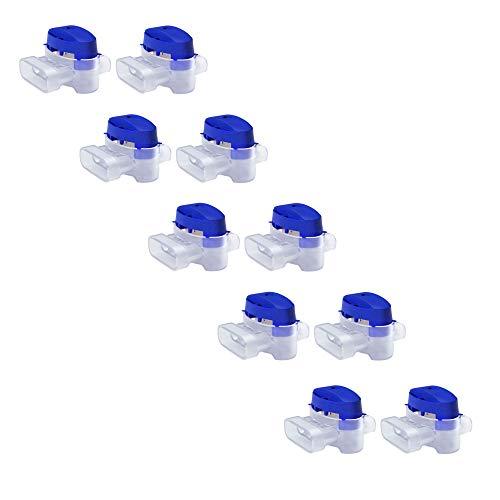 MOWHOUSE Kabelverbinder Set für Rasenroboter - 10 Stück Verbindungsklemmen Wasserdicht