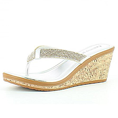 Heavenly Feet, Sandali donna Silver