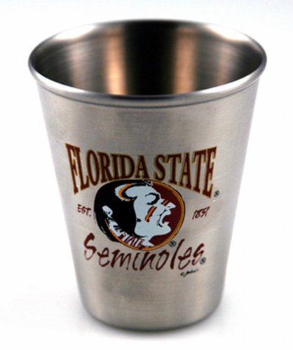 Game Day Outfitters NCAA Florida State Seminolen Shotglass Fsu Fan-tag
