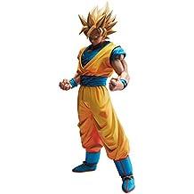 Banpresto - Figurine DBZ - Son Goku Super Saiyan Overseas Exclusive Color 25cm - 045557334802