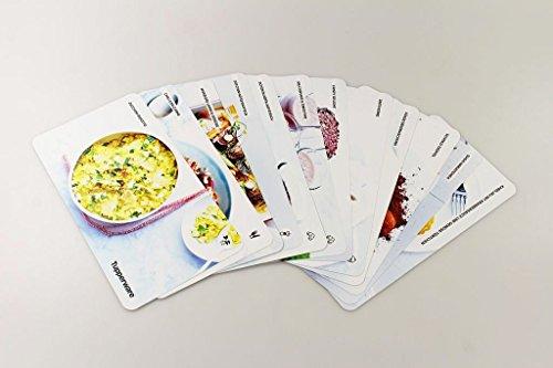 TUPPERWARE Rezeptkarten 12 Stück Rezeptideen Kochen Backen (Tupperware 12 Stück)