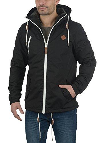 SOLID Tilden Herren Übergangsjacke Jacke mit Kapuze aus hochwertigem Material Black (9000)