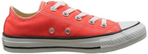 Converse Chuck Taylor All Star Season Ox, Unisex Sneaker Orange (Corail)