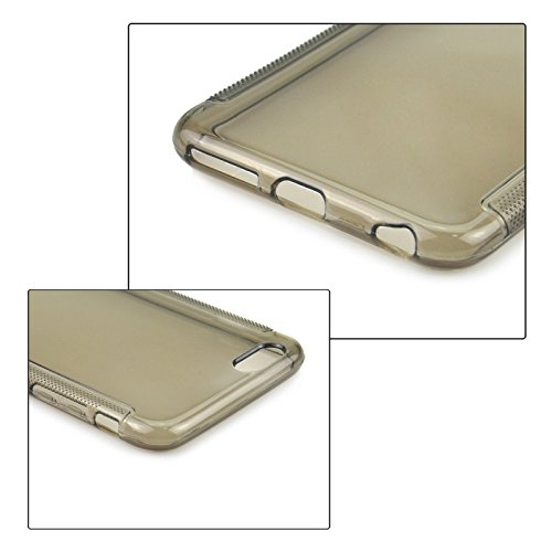 GHC Cases & Covers, 0.3mm Ultra-dünner Anti-Rutsch-TPU Fall für iPhone 6 ( Color : Grey ) Grey