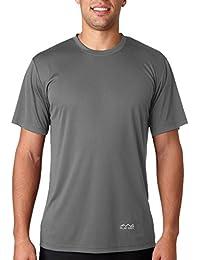 Scott International Men's Jersey Round Neck Dryfit Polyester T-Shirt - Dark Grey