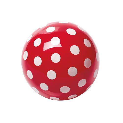 Kleiner Pünktchenball, Ø 14 cm - Punktball rot Spielball
