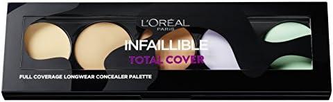 L'Oréal Paris Infaillible Total Cover Correttore Palette Copertura Totale a Lunga Durata