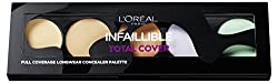 L'oréal Infallible Total Cover Concealer Palette