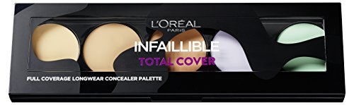 L'Oréal Paris Paleta correctora Infalible Total Cover
