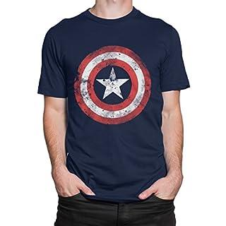 Avengers Herren Captain America T-Shirt Large
