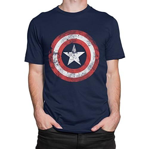 Marvel Capitan America - Camiseta para Hombre 7