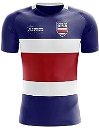 Airo Sportswear 2018-2019 Costa Rica Flag Concept Football Soccer T-Shirt Camiseta (
