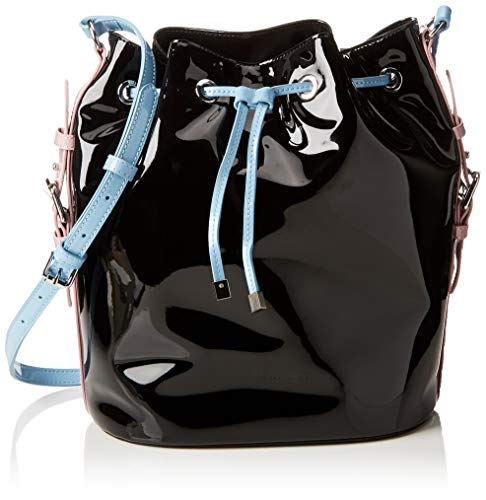 ARMANI EXCHANGE Bucket Bag - Borse a spalla Donna, Multicolore (Pink/L.Blue/Black), 29x18.5x35 cm (B x H T)