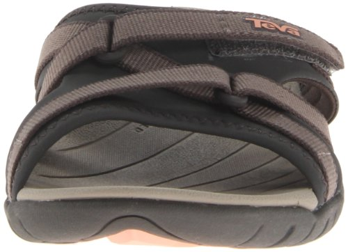 Teva Women's Tirra Slide Sandal,Brown,10 M US Brown