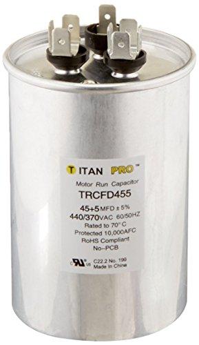 Packard trcfd45545+ 5mfd 440/370V rund Run Kondensator ersetzt prcfd455 -