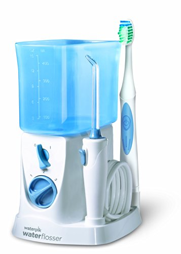 Waterpik WP700E2 - Kit de cuidado dental, color blanco y azul