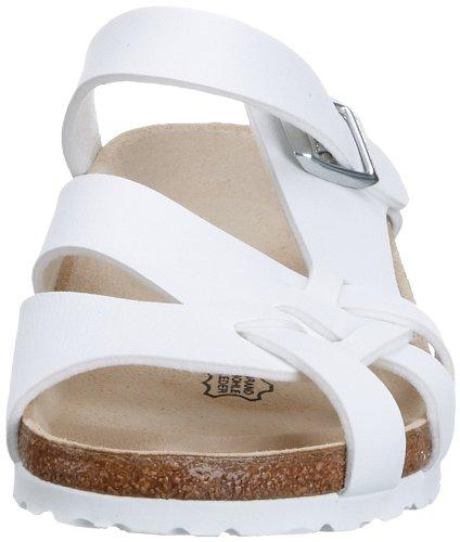 Birkenstock Pisa , Sandales femme Blanc