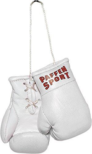 Paffen Sport COLOUR Mini Boxhandschuhe - Anhänger fürs Auto - weiß