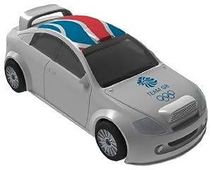 Corgi (Londres 2012 - CTY62330 - Vehículo de circuito en miniatura - Team GB Salón Blanco