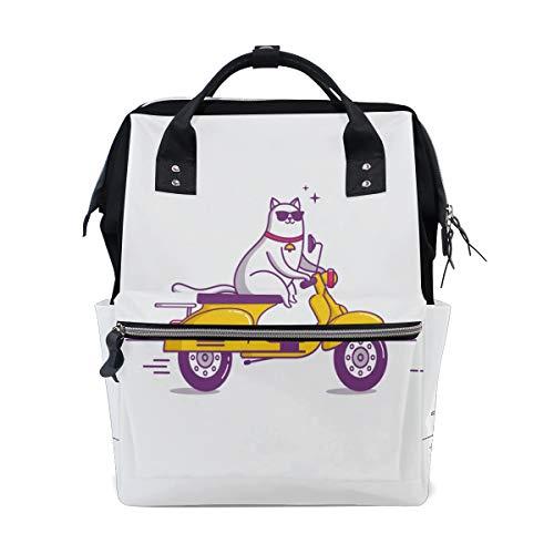 en Auto Schnell Große Kapazität Wickeltaschen Mama Rucksack Multi Funktionen Windel Pflegetasche Tote Handtasche Für Kinder Babypflege Reise Täglichen Frauen ()
