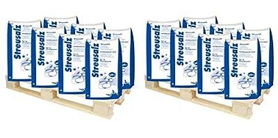 Hamann Streusalz 2100 kg (42x 50 kg) - hoher Anteil tauwirksamer Substanzen - Deutsches Steinsalz 0-5mm