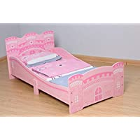 MCC Castle Princess Junior, Toddler, Kids Bed with Luxury Foam Mattress Made in England