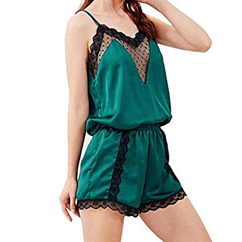 sakkdaull Seidenanzug für Damen aus Satin Setunderwear Set günstig Modeschmuck aus Moda Qualität S