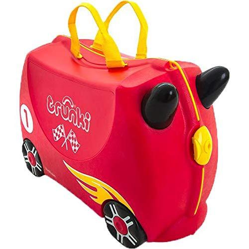 trunki Ride-On Koffer befahrbarer Kindertrolley 46 cm hergestellt von trunki
